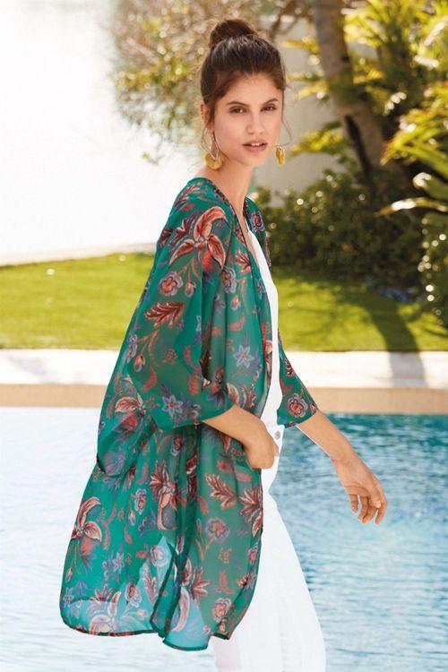 Next Printed Kimono
