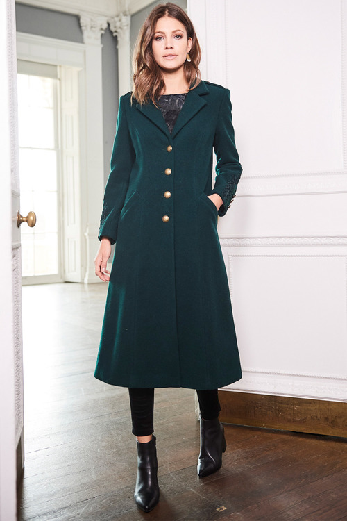Together Longline Military Coat