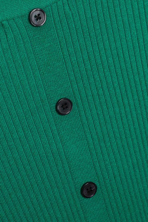 Next Button Back Sweater