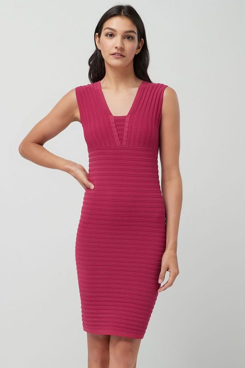 Next Rib Bodycon Dress