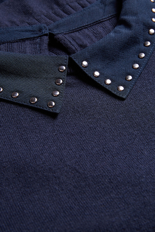 Next Stud Embellished Sweater