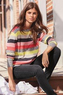 Next Rainbow Stripe Sweater