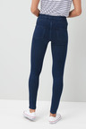Next Sculpt Pull On Denim Leggings - Tall