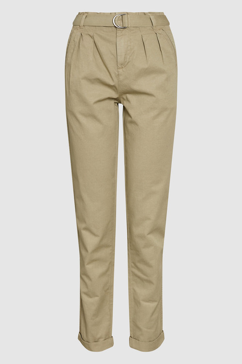 Next Belted Taper Trousers - Tall