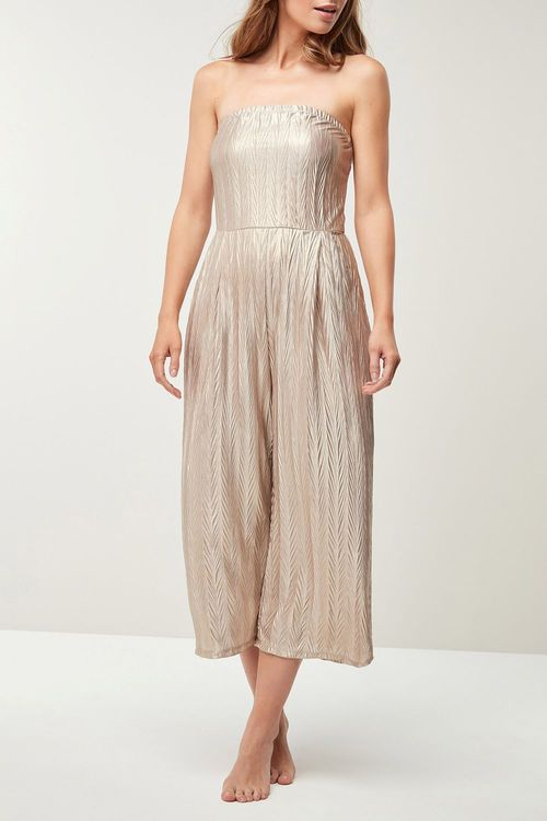 Next Metallic Jumpsuit