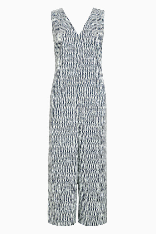 Next Print Cropped Jumpsuit - Tall