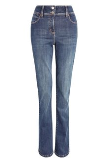 Next Enhancer Boot Cut Jeans - Petite