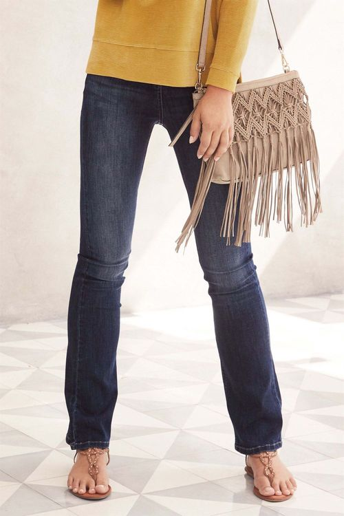 Next Deluxe Flare Jeans - Petite