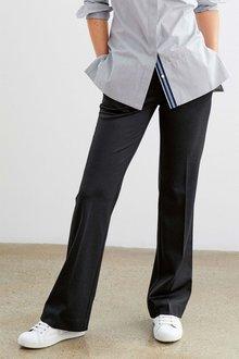Next Ponte Boot Cut Trousers - Petite