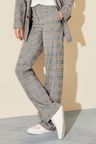 Next Check Slouch Trousers - Petite