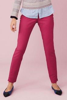 Next Skinny Zip Trousers - Petite