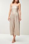 Next Metallic Jumpsuit - Petite