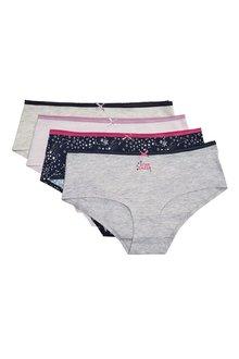 Next Print Cotton Shorts Four Pack