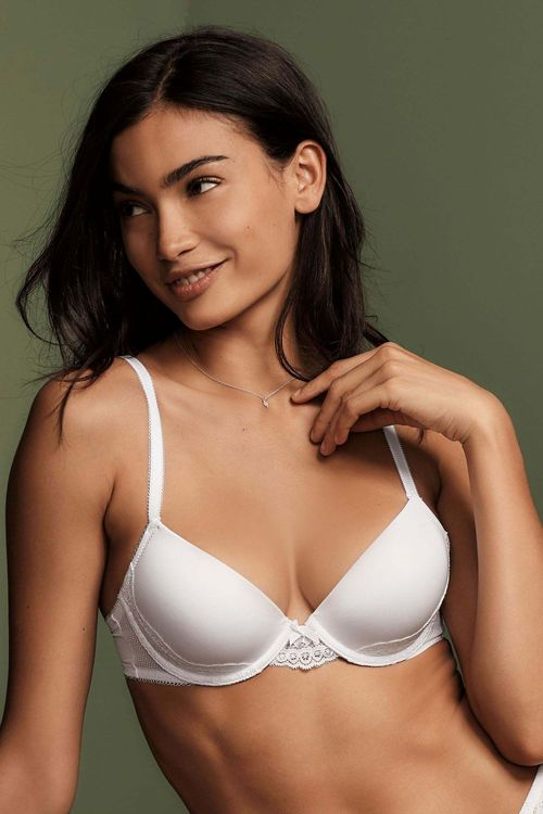 Next Carrie Light Pad Lace Plunge Bra