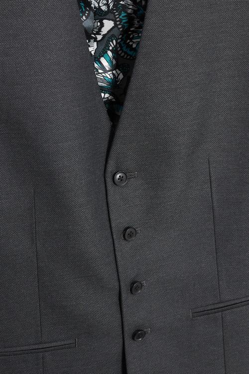 Next Grey Regular Waistcoat