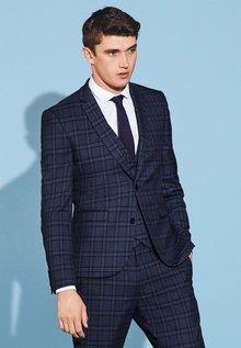 Next Check Suit: Waistcoat - 211684