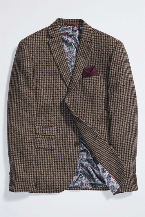 Next Check Jacket - Slim Fit