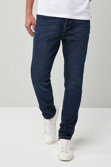 Next Dark Blue Skinny Fit Jeans