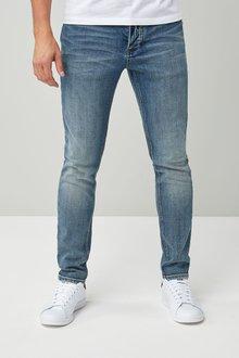 Next Light Blue Skinny Fit Jeans