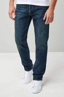 Next Mid Blue Slim Fit Jeans
