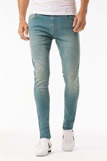 Next Green Wash Slim Fit Jeans
