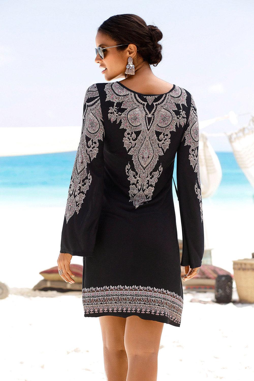 f7e0dcf87ec8 Best Seller. Urban Long Sleeve Paisley Dress