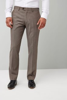 Next Italian Wool Suit: Trousers - Tailored Fit
