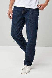 Next Dark Blue Straight Fit Jeans