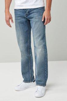 Next Light Blue Loose Fit Jeans
