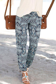 Urban Printed Knit Pants - 211772