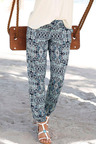 Urban Printed Knit Pants
