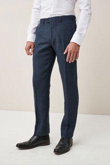 Next Signature Linen Suit: Trousers