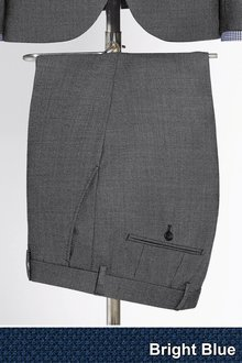 Next Tailored Fit Wool Blend Suit: Trouser