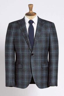 Next Slim Fit Signature Check Suit: Trouser