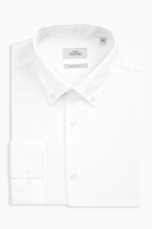 Next Easy Care Oxford Shirt - Regular Fit Single Cuff