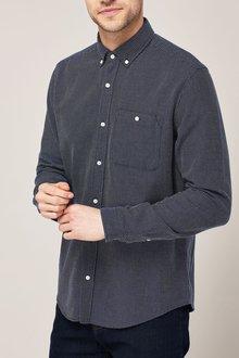 Next Long Sleeve Textured Shirt