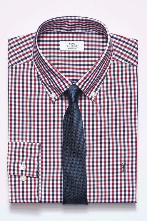 Next Gingham Regular Fit Shirt