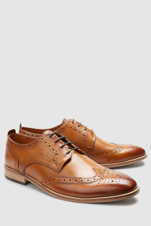 Next Contrast Sole Brogue