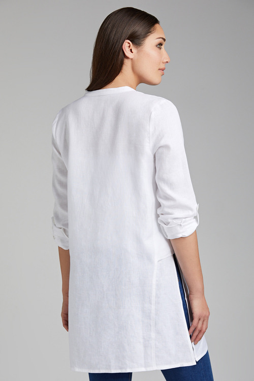 Grace Hill Linen Tunic