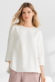 Grace Hill Linen Swing Top