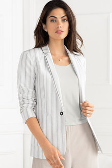 Grace Hill Stripe Blazer