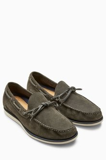 Next Sueded Lace Loafer