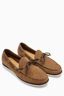 Next Suede Lace Loafer