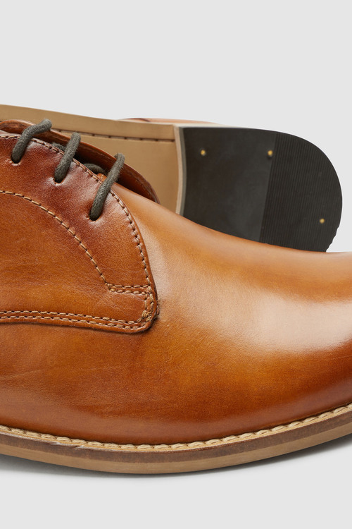 Next Contrast Sole Derby