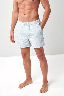 Next Leaf Print Swim Shorts