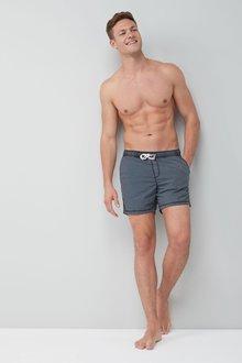 Next Garment Dye Swim Shorts