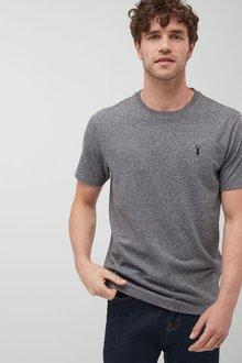 Next Grey Heavier Weight Logo T-Shirt