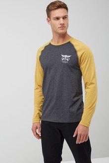 Next Chest Graphic Raglan T-Shirt