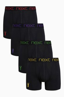 Next Stag Embroidery A-Fronts Four Pack