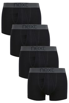 Next 100% Cotton A-Fronts Four Pack
